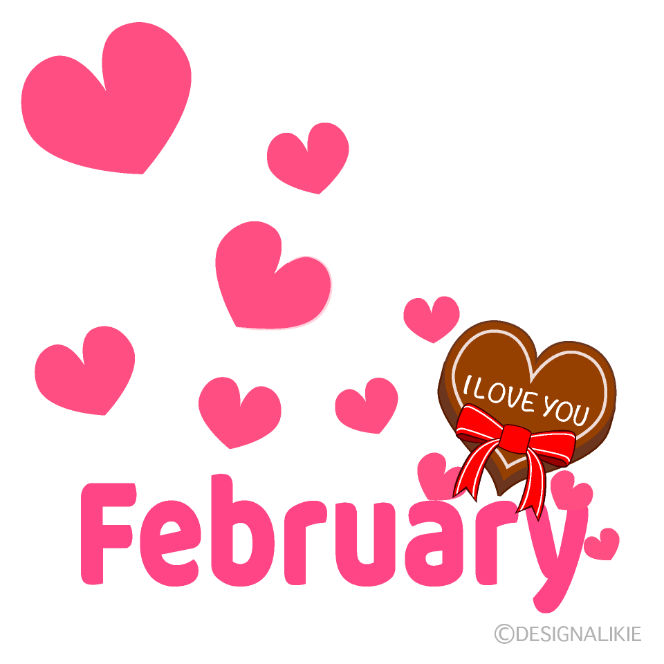 Valentine February Clipart