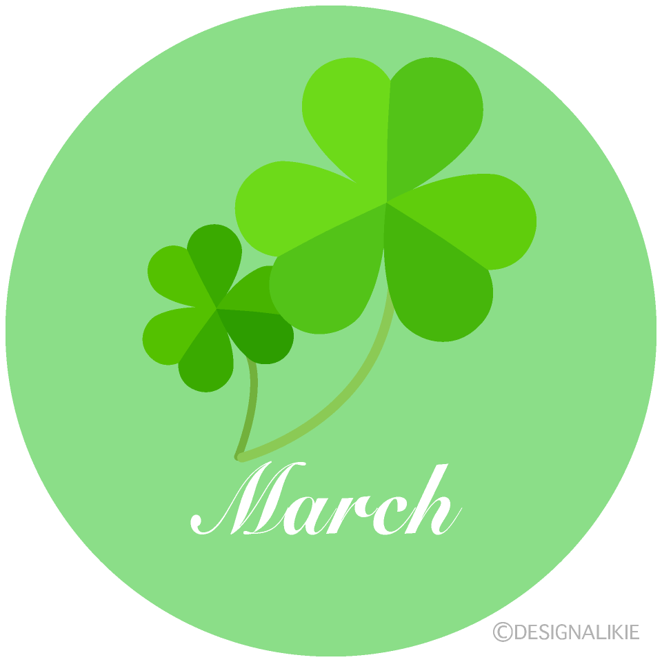 Shamrock March Clipart