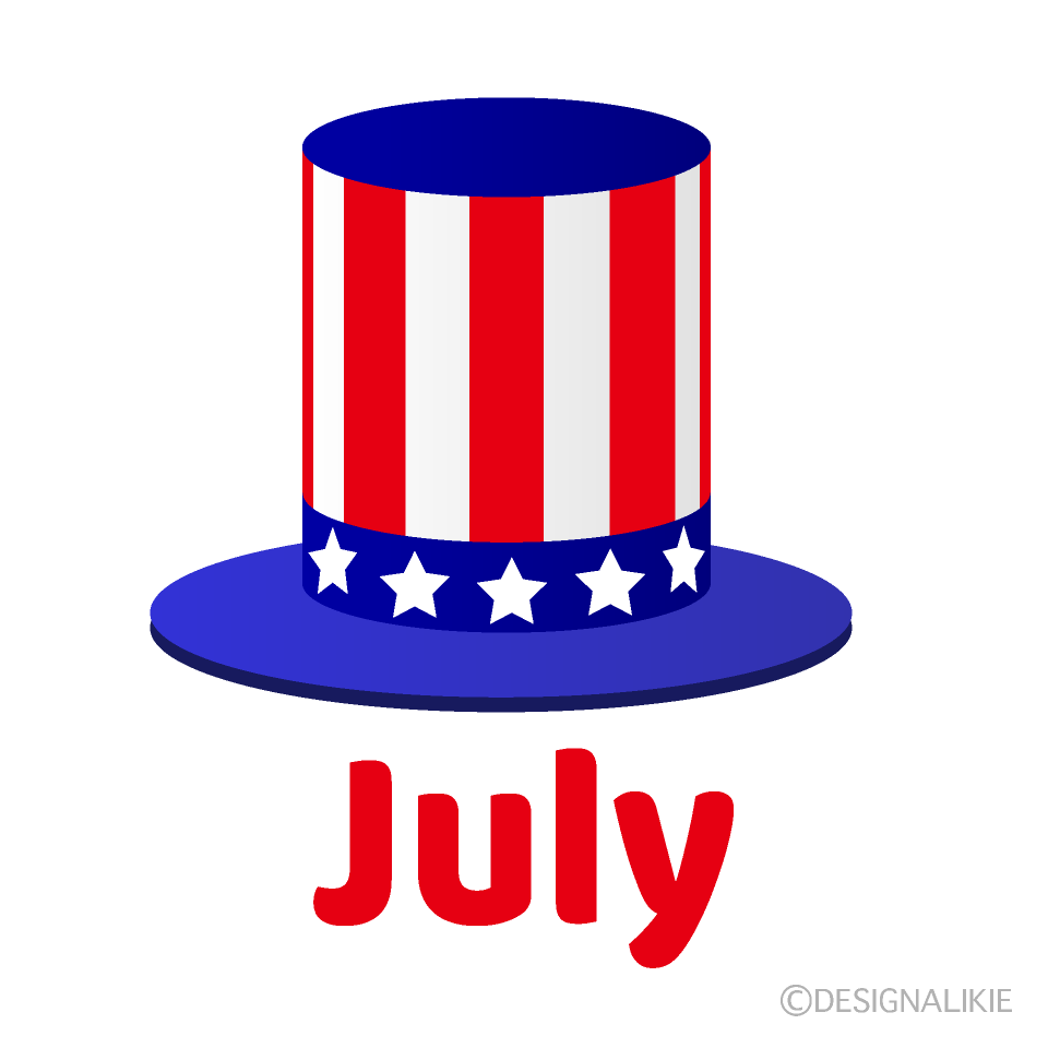 Independence Hat July Clipart