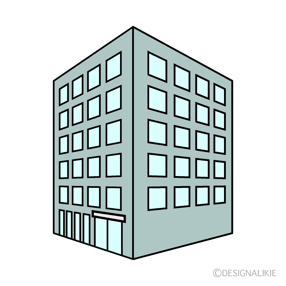 Building from Angle Clipart