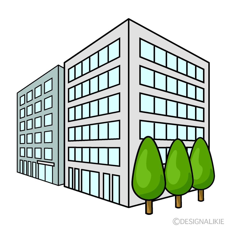 Buildings from Angle Clipart