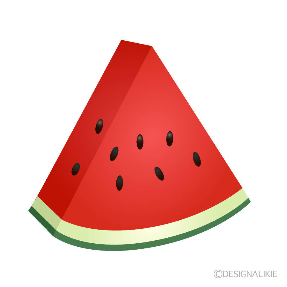 Triangle Cut Watermelon Free Png Image Illustoon