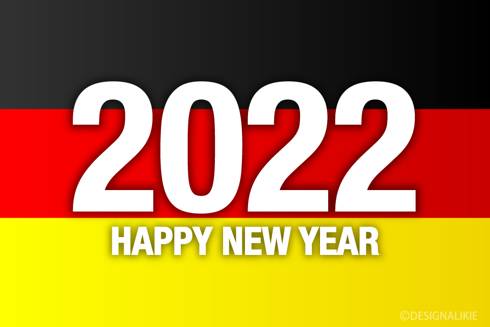 Happy New Year 2021 on Germany