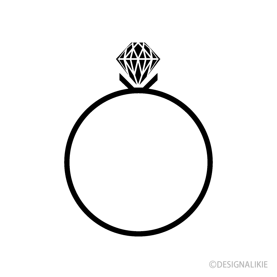 Diamond Ring Silhouette