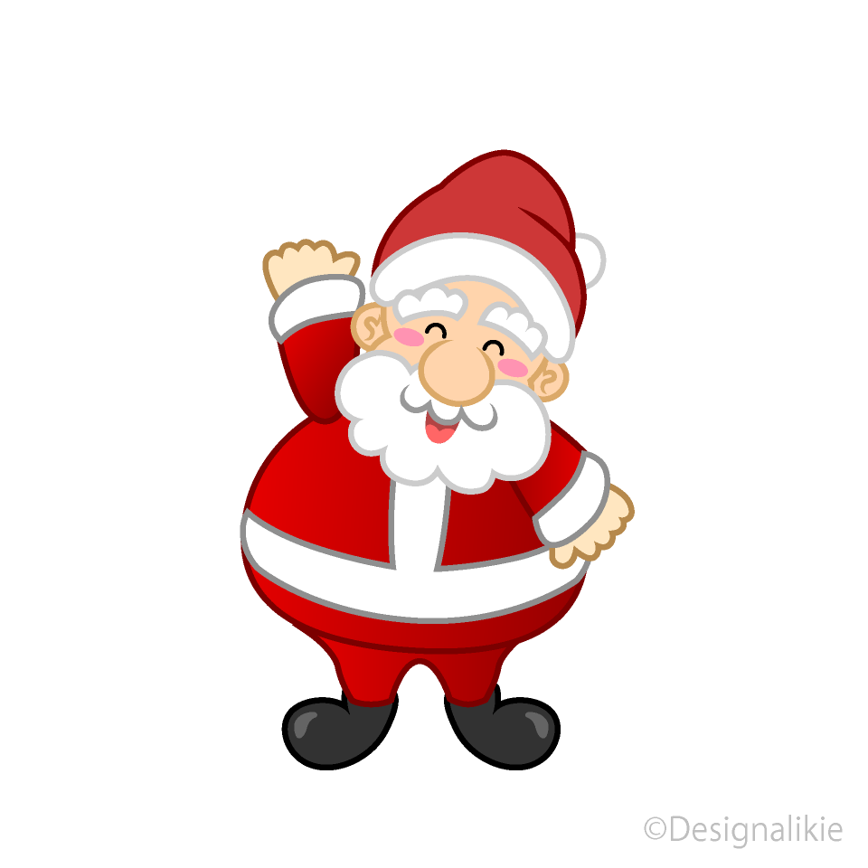 Santa to greet Clipart