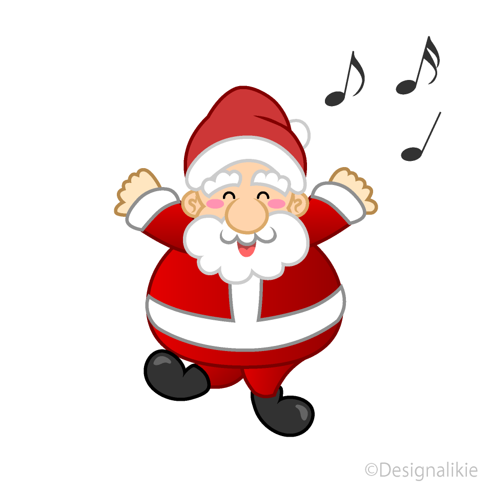 Christmas Dancing Santa.Dancing Santa Clipart Free Picture Illustoon