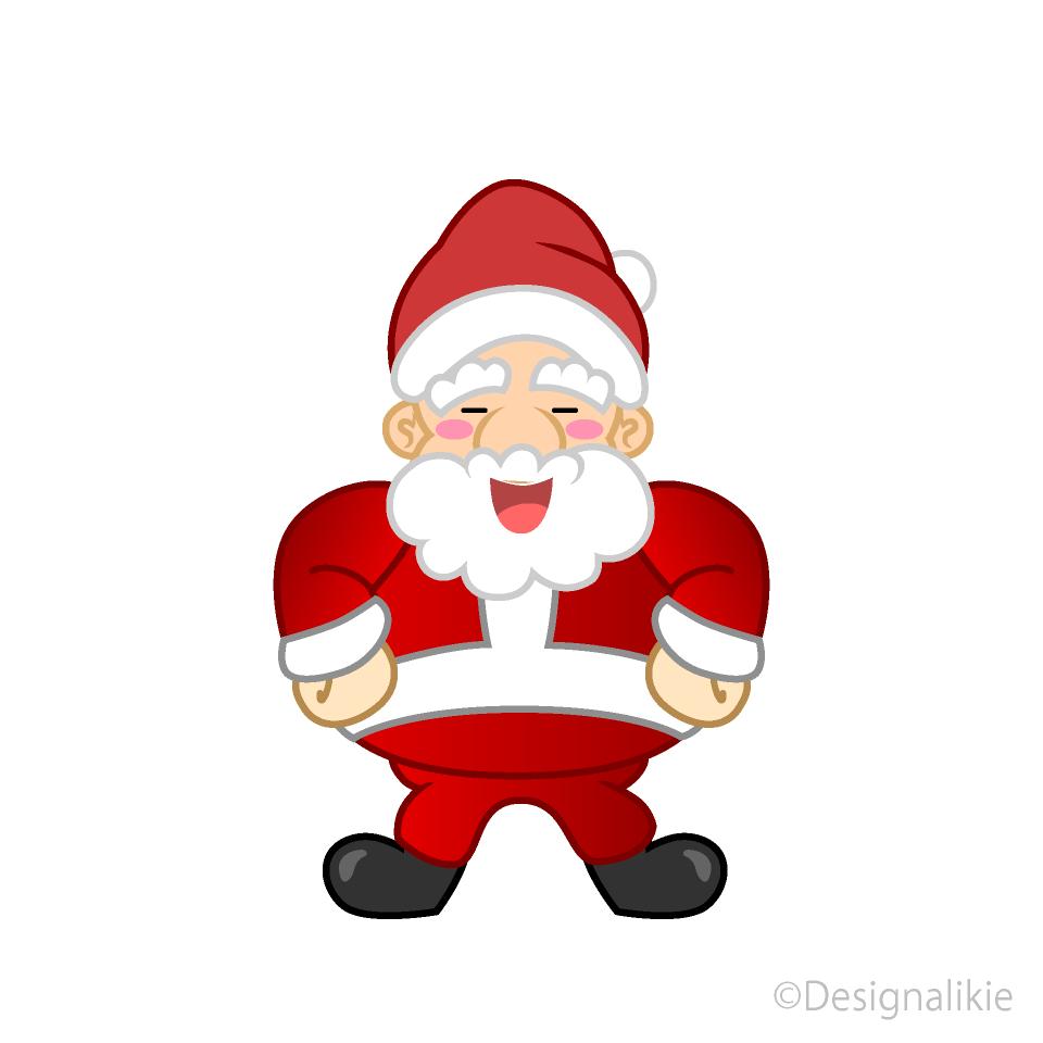 laughing santa clipart free png image illustoon laughing santa clipart free png image