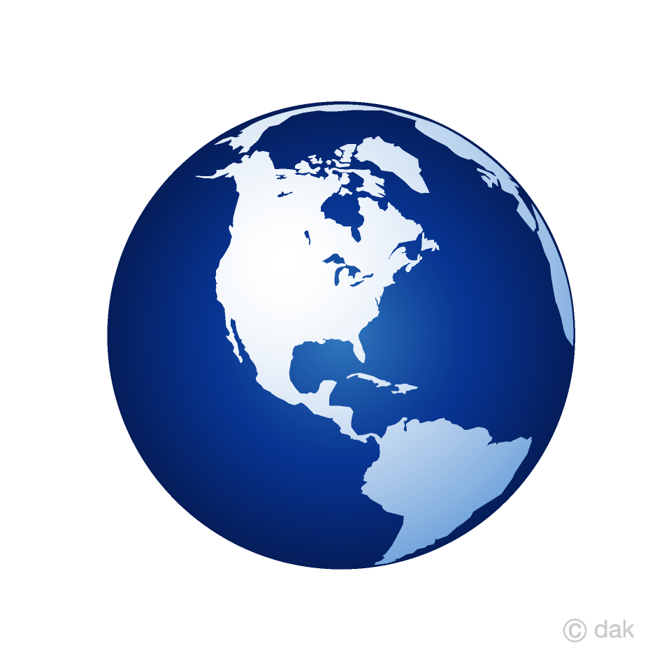 Blue Earth American Clipart