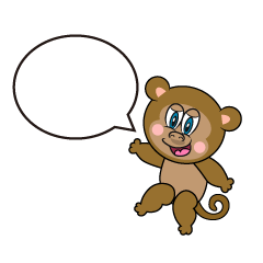 Speaking Monkey Cartoon