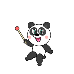 Explain Panda Cartoon