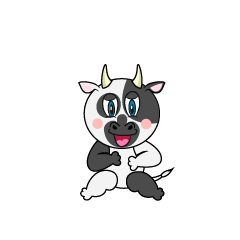 Laughing Cow Cartoon