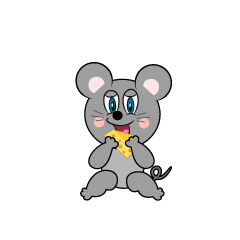 Eating Mouse Cartoon