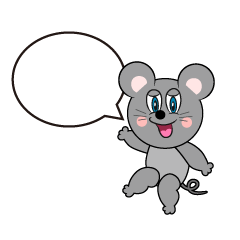 Speaking Mouse Cartoon