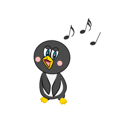 Singing Penguin Cartoon