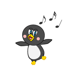 Dancing Penguin Cartoon