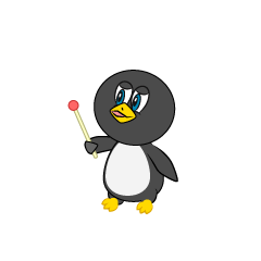 Explain Penguin Cartoon