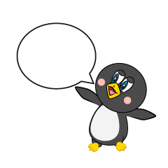 Speaking Penguin Cartoon