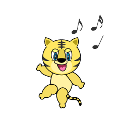Dancing Tiger Cartoon