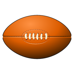 Rugby Ball Clipart