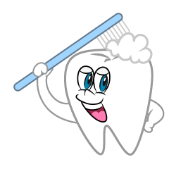 Toothbrushing Tooth Cartoon