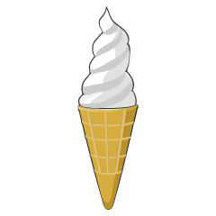 Soft serve ice cream Clipart