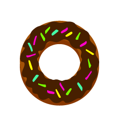 Chocolate Donut Clipart