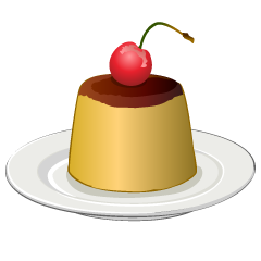 Pudding Clipart