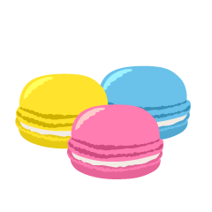 Macaroons Clipart