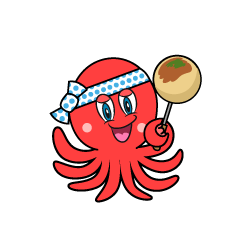 Takoyaki Octopus Cartoon