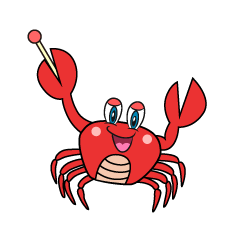 Explain Crab Cartoon