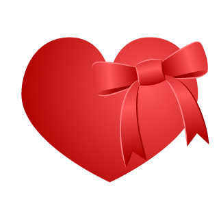 Ribbon Heart Clipart
