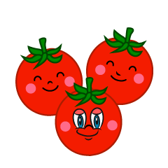 Cherry Tomatoes Cartoon