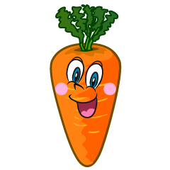 Surprising Carrot Cartoon