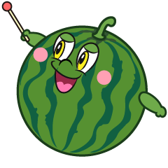 Explain Watermelon Cartoon