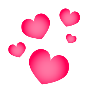 Floating Heart Clipart