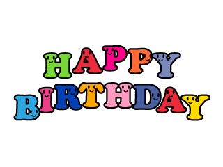 Smile Happy Birthday Clipart