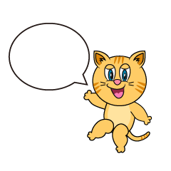 Speaking Tabby Cartoon