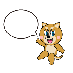Speaking Shiba Inu Cartoon