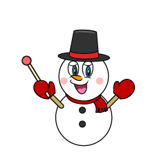 Explain Snowman Cartoon