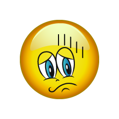 Depressed Emoticon Cartoon