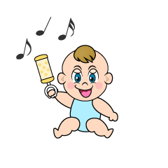 Playing Baby Clipart