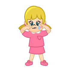 Crying Girl Clipart