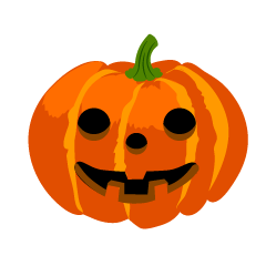 Laughing Halloween Pumpkin Clipart