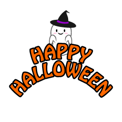 Ghost Happy Halloween Clipart
