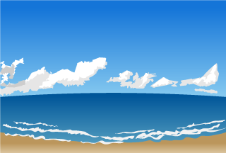 Coast and Ocean Background