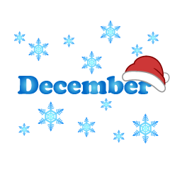 Santa Hat December Clipart