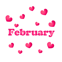 Hearts February Clipart