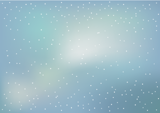 Snow Clouds Background