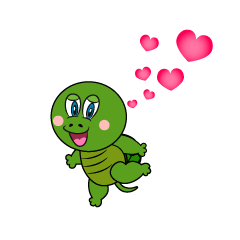 Loving Turtle Cartoon