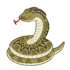 Scary Snake Clipart